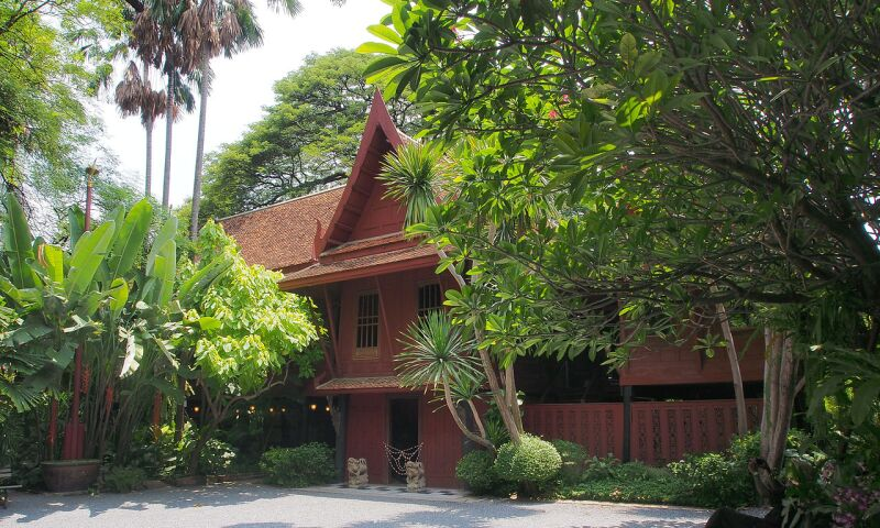 Jim Thompson House_Exterior_Bangkok