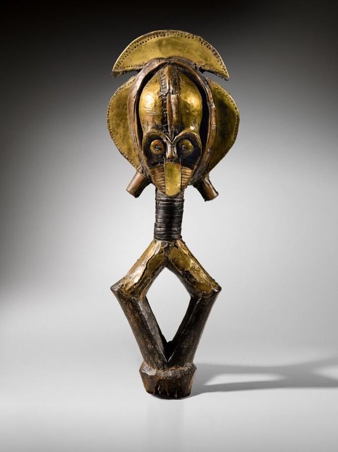 Kota Obamba Reliquary Figure,