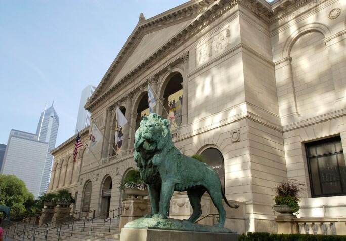 Exterior View, Art Institute of Chicago