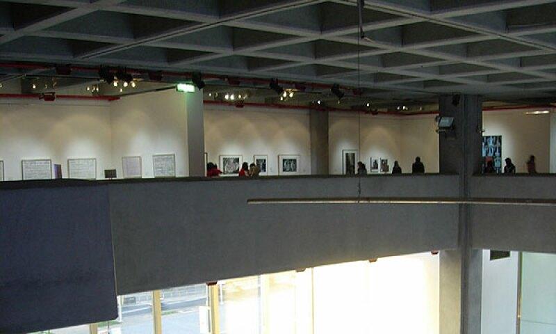 Interior view of the Taipei Fine Arts Museum.
