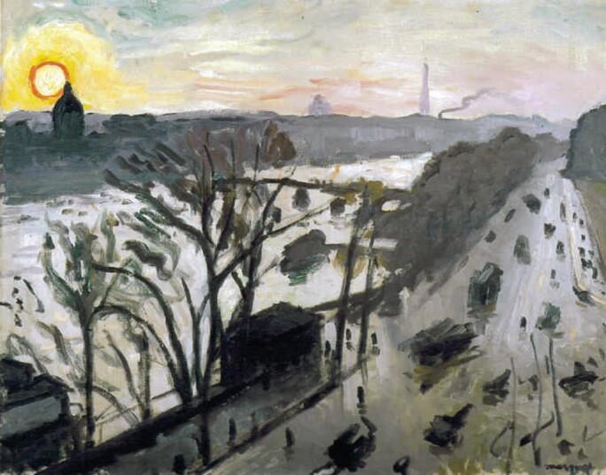 Albert Marquet, Quai de Louvre, 1905