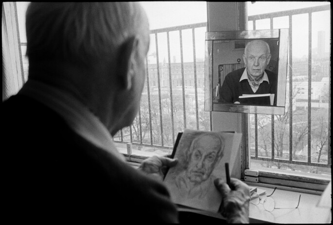 French photographer Henri Cartier-Bresson.