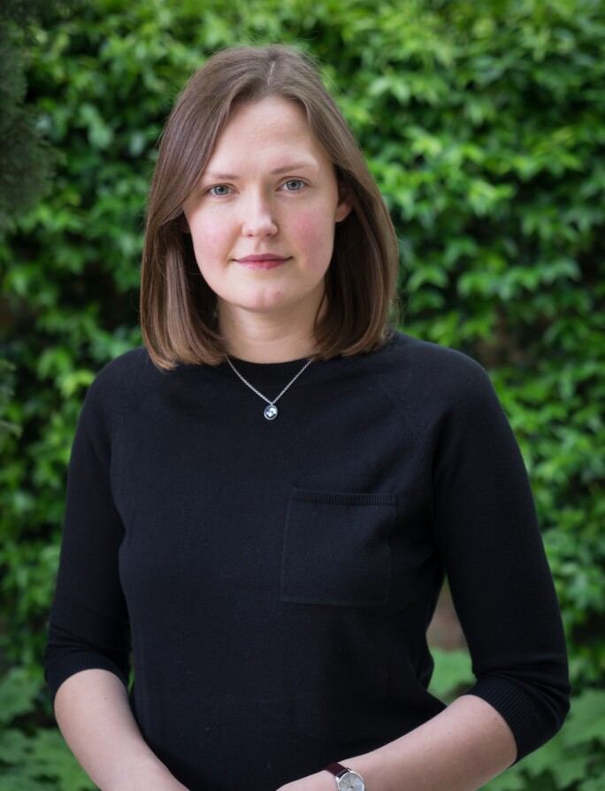 Grazina Subelyte, assistant curator at the Peggy Guggenheim Collection, Venice