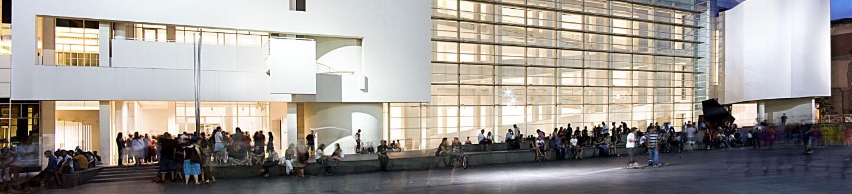 Exterior View, Museu d'Art Contemporani de Barcelona