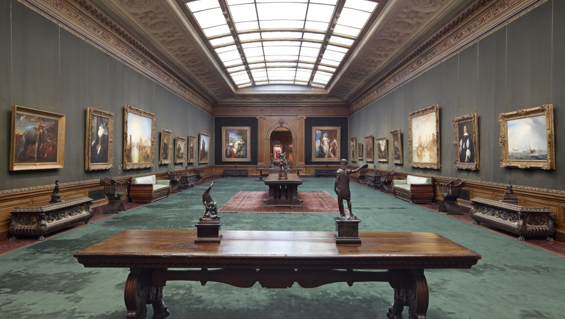 Interior View, The Frick Collection