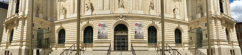 Exterior view of the Musée d'Arts de Nantes.