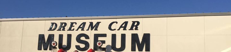 Exterior View of the Dream Car Museum.
