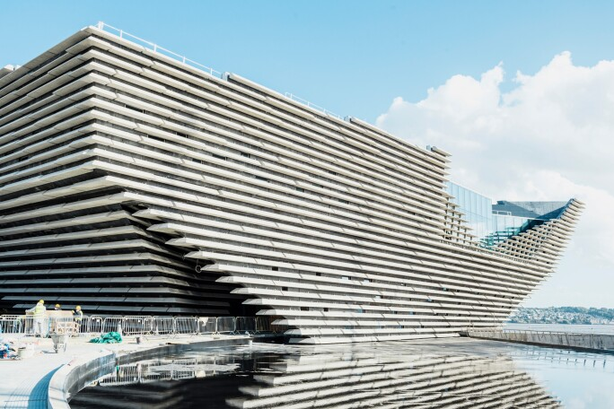 Victoria & Albert Museum Dundee Construction 2017