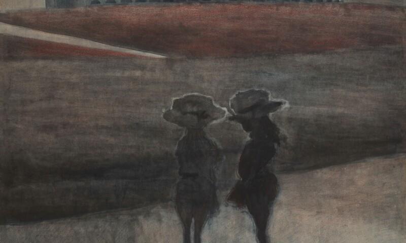 Léon Spilliaert, Girls on the beach, 1908 .jpg