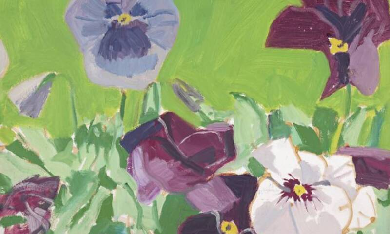 Pansies 1967 by Alex Katz born 1927
