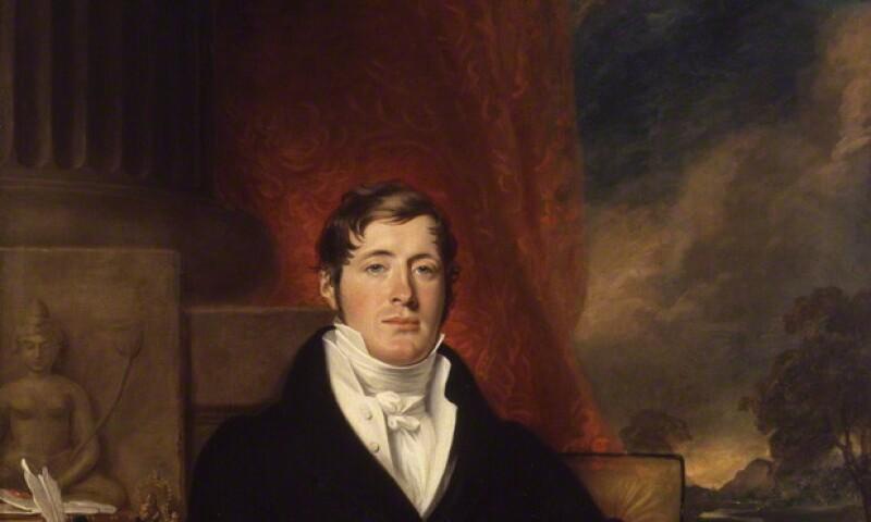 NPG 84; Sir Thomas Stamford Bingley Raffles by George Francis Joseph