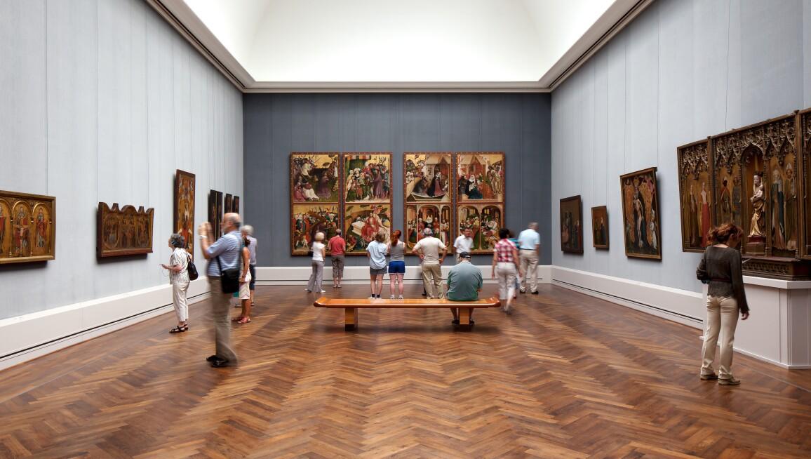Interior View, Gemäldegalerie