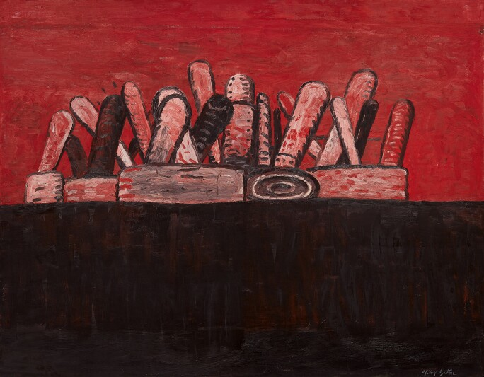 Philip Guston, Red Sky, 1978. Estimate $6,000,000–8,000,000.