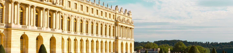 Exterior View, Château de Versailles