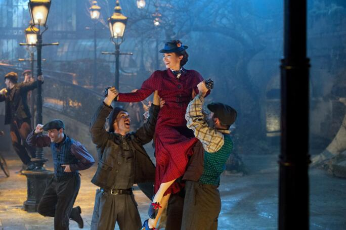 Emily Blunt in Mary Poppins Returns, 2018