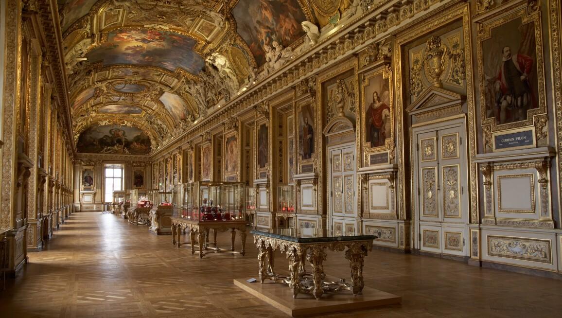 Interior View, Musée du Louvre