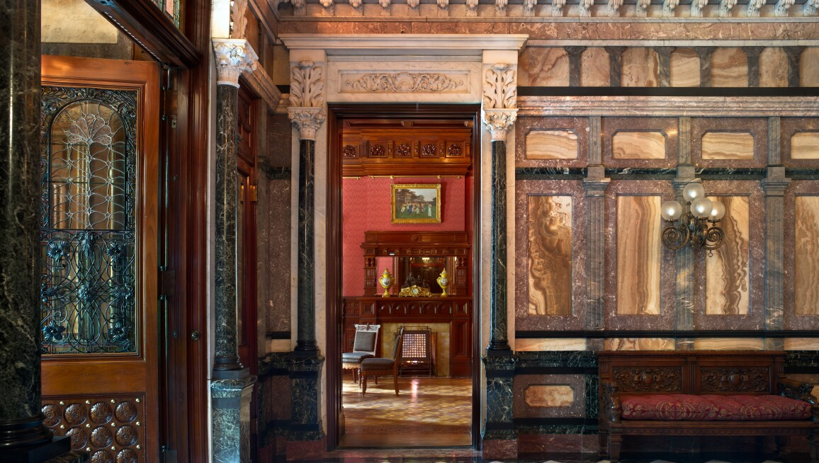 Interior View,  The Richard H. Driehaus Museum