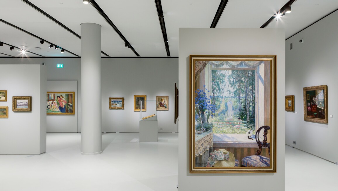Interior View, Permanent Exhibition Museum of Russian Impressionism