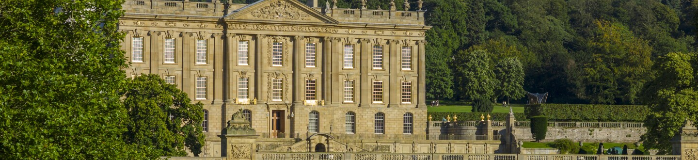 Exterior View, Chatsworth House