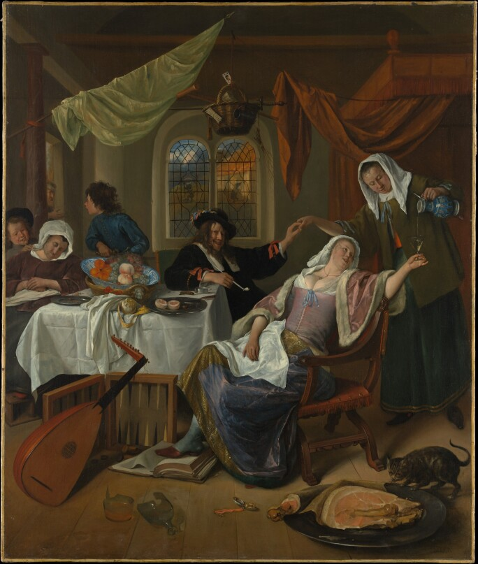 Jan Steen, The Dissolute Household, ca 1663-64 (3).jpg