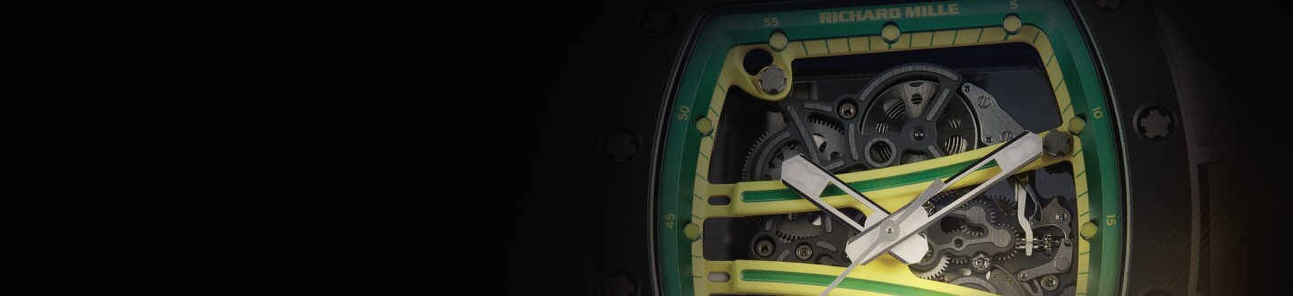A Richard Mille ceramic Yohan Blake wristwatch in an auction selling Richard Mille watches