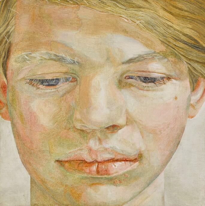 Lucian Freud Head of a Boy