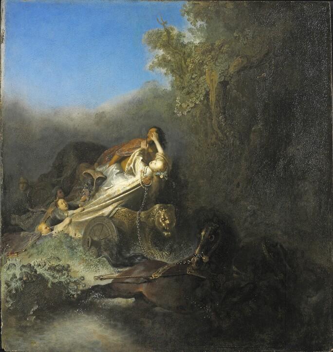 Rembrandt van Rijn, The Abduction of Proserpina