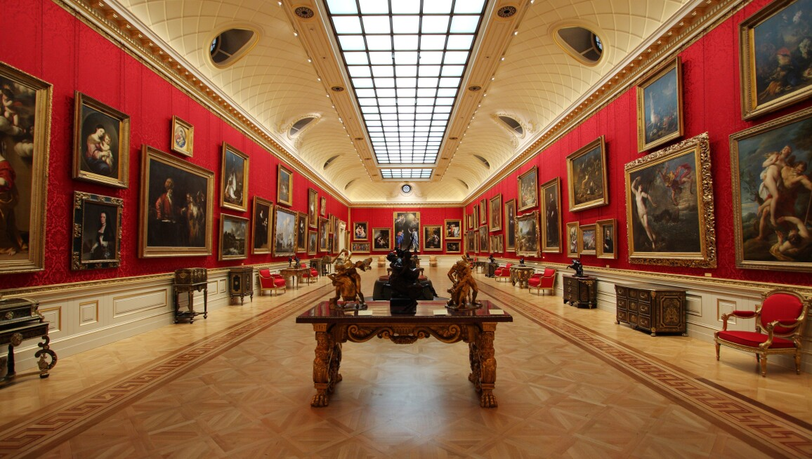 Interior View, The Wallace Collection