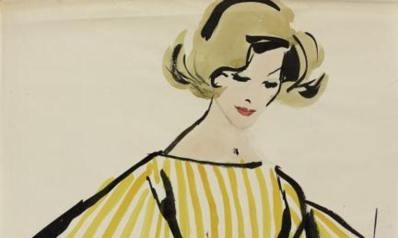 Jim Howard, Drawing, about 1960, Ink and watercolor on paper, From the collection of Jim Howard © Jim Howard.