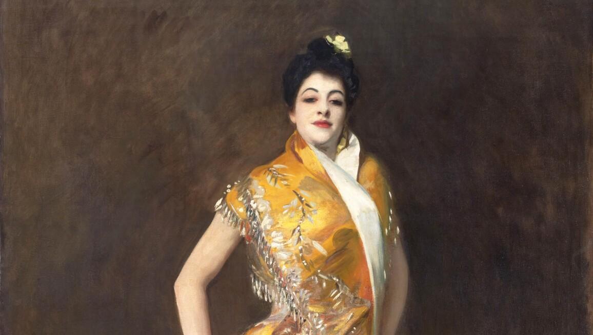 John Singer Sargent's painting La Carmencita, 1980