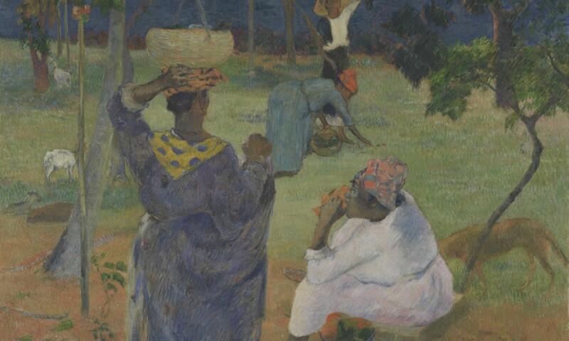 Paul Gauguin, The Mango Trees, Martinique, 1887