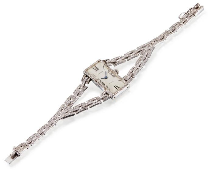 Cartier, Diamond lady's watch
